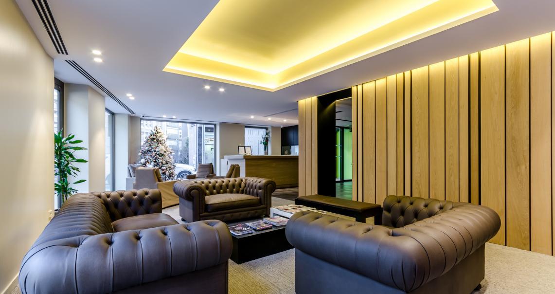Interior de l'Hotem Metropolis