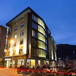 Edifici de l'Hotel Metropolis