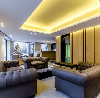 Interior del Hotel Metropolis