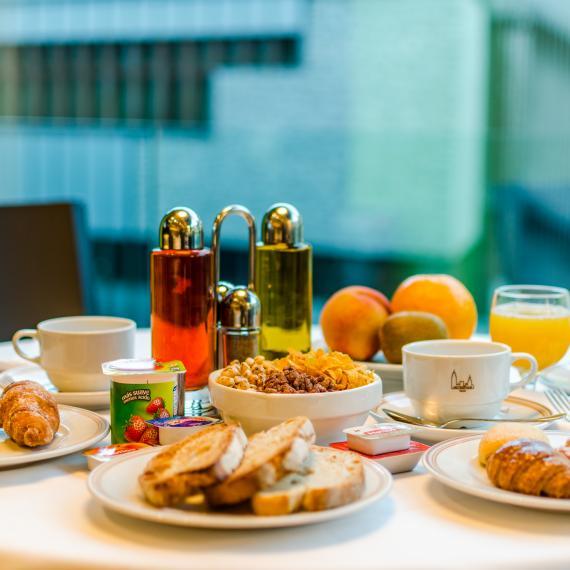 Esmorzar del Restaurant Atlántida