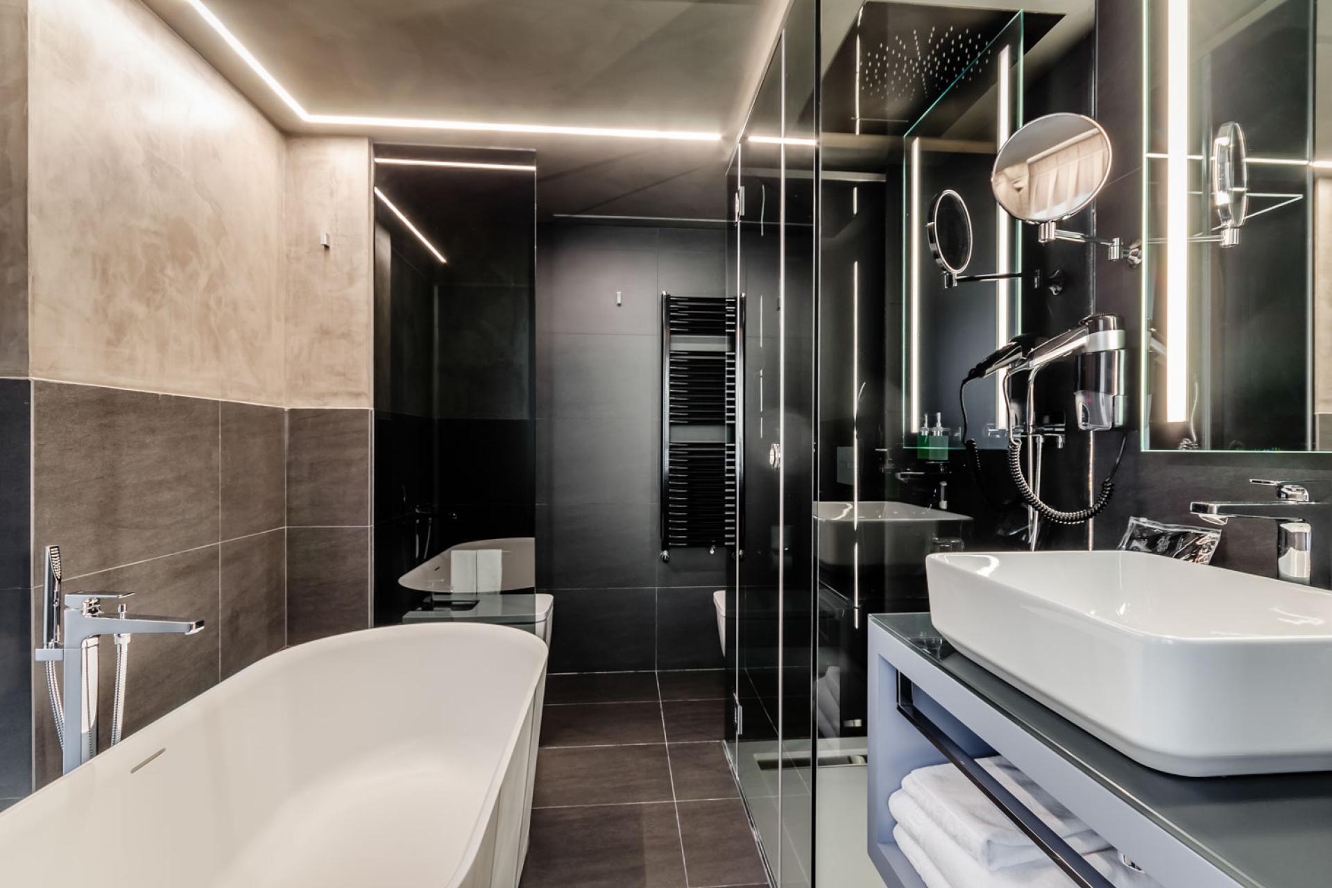 туалет в гостинице Метрополис