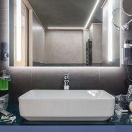 Hotel Metropolis Suite Bathroom